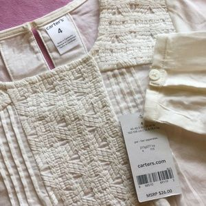 Carter's Matching Sets - Carter's blouse & leggings. NWT